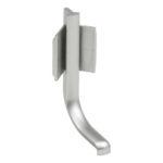 Angle interne - Couleur argent, Plastique, 36 mm, 52 mm, 1pcs