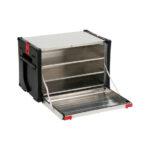 Boîte à chargement frontal ORSY®BULL série5 pour système de rangement à rabat - 592 x 390 x 400 mm, Aluminium, 67 L, 8.4.1, 1pcs