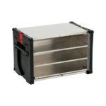 Boîte à chargement frontal ORSY®BULL série5 pour système de rangement - 592 x 390 x 400 mm, Aluminium, 67 L, 8.4.1, 1pcs