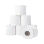 Papier hygiénique pure ouate 2plis - Blanc, 98 mm, 110 mm, 200 PCS, 72pcs