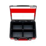 Coffret de rangement à compartiments, vide, SYSKO 4.4.2 - 8 PCS, 4.4.2, 370 x 270 x 140 mm, 1pcs