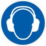 Protection auditive - M003 - 80 mm, Bleu. Blanc, 222 g, 1pcs