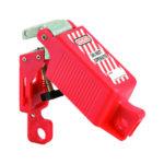 Verrou de consignation ajustable - 66 mm, 39 mm, Rouge, Plastique renforcé de fibre de verre, 1pcs