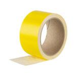 Bande adhésive pour surface vitrée - Blanc, Polychlorure de vinyle - PVC, 5 cm, 10 m, 1pcs