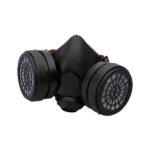 Masque partiel avec filtre gaz et vapeurs organiques A2 - 388, Caoutchouc naturel, Masque à galettes, 1pcs