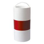 Fardier - 9.8 mm, 19.9 mm, Polypropylène - PP, Rouge. Blanc, 1pcs