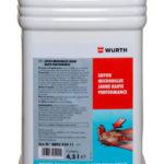 Savon microbilles jaune - 4.5 L, Bidon plastique, Jaune, Agrumes, 1pcs/4pcs