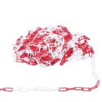 Chaîne en plastique - Rouge/blanc, 42 mm, 22 mm, 6 mm, 1pcs