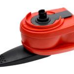 Doseur manuel A clipser et utiliser - 108 mm, 385 mm, Rouge, Plastique, 1pcs
