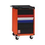 Système servante d'atelier BASIC 8.4 - 5 tiroirs. l 466 x P 366 x H 69 mm. 2 tiroirs. l 466 x P 366 x H 149 mm, Couleurs RAL. spéciales et métalliques, 665 x 393 x 964 mm, 4 PCS, 1pcs
